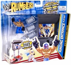 WWE Wrestling Rumblers Ringing Entrance Playset [Rey Mysterio Figure]