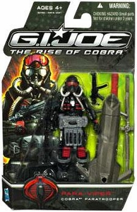 GI Joe Movie The Rise of Cobra 3 3/4 Inch Action Figure Para-Viper [Cobra Paratrooper]