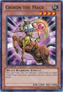 YuGiOh Battle Pack: Epic Dawn Single Card Common BP01-EN137 Chiron the Mage