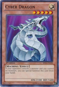 YuGiOh Battle Pack: Epic Dawn Single Card Common BP01-EN138 Cyber Dragon