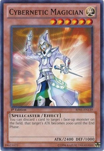 YuGiOh Battle Pack: Epic Dawn Single Card Common BP01-EN139 Cybernetic Magician