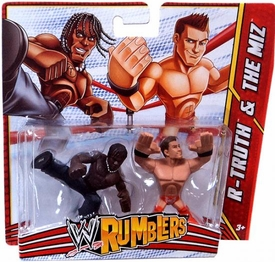 WWE Wrestling Rumblers Mini Figure 2-Pack R-Truth & The Miz