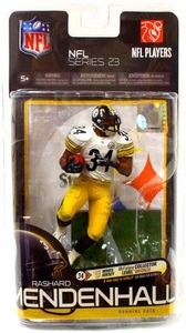 McFarlane Toys NFL Sports Picks Series 23 Action Figure Rashard Mendenhall (Pittsburgh Steelers) White Jersey Bronze Collector Level Chase Only 3,000 Made!