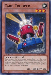 YuGiOh Battle Pack: Epic Dawn Single Card Common BP01-EN143 Card Trooper