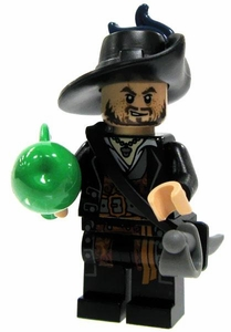 LEGO Pirates of the Caribbean LOOSE Mini Figure Captain Hector Barbossa [Cutlass & Apple]