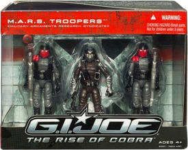 GI Joe: The Rise of Cobra M.A.R.S. Troopers Action Figure 3-Pack [Military Armaments Research Syndicate]
