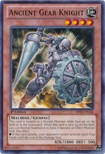 YuGiOh Battle Pack: Epic Dawn Single Card Common BP01-EN146 Ancient Gear Knight