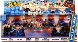 WWE Wrestling Rumblers Mini Figure 7-Pack Battle Royal #2 [Big Show, Miz, Orton, Cena, Mysterio, Sheamus & Jackson]
