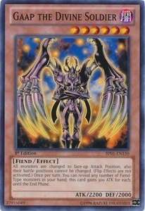 YuGiOh Battle Pack: Epic Dawn Single Card Common BP01-EN150 Gaap the Divine Soldier