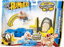 WWE Wrestling Rumblers Accessory Set Forklift Smashdown Playset [John Cena Figure] BLOWOUT SALE!