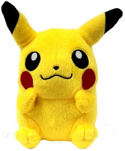 Pokemon Japanese Banpresto 5 Inch Plush Figure Sitting Pikachu [Hands on Cheeks]