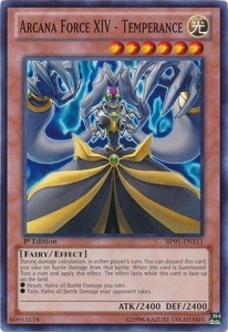 YuGiOh Battle Pack: Epic Dawn Single Card Common BP01-EN151 Arcana Force XIV - Temperance