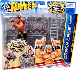 WWE Wrestling Rumblers Crash Cage Playset [Randy Orton Figure]
