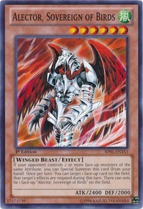 YuGiOh Battle Pack: Epic Dawn Single Card Common BP01-EN153 Alector, Sovereign of Birds