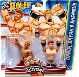 WWE Wrestling Rumblers Mini Figure 2-Pack Daniel Bryan & Sheamus