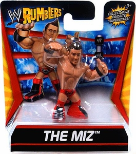 WWE Wrestling Rumblers Mini Figure The Miz