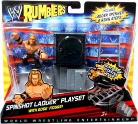 WWE Wrestling Rumblers Accessory Set Spinshot Ladder Playset [Edge Figure]