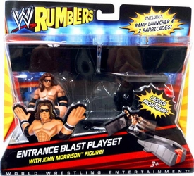 WWE Wrestling Rumblers Accessory Set Entrance Blast Playset [John Morrison Figure]