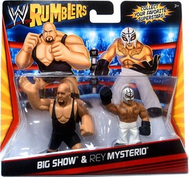 WWE Wrestling Rumblers Mini Figure 2-Pack Big Show & Rey Mysterio