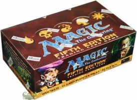 Magic the Gathering Fifth 5th Edition Booster Box [36 packs]