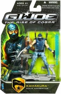 GI Joe Movie The Rise of Cobra 3 3/4 Inch Action Figure Kamakura [Ninja Apprentice]