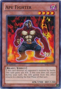 YuGiOh Battle Pack: Epic Dawn Single Card Common BP01-EN169 Ape Fighter