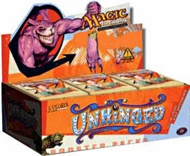 Magic the Gathering Unhinged Booster BOX [36 Packs]