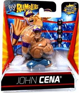 WWE Wrestling Rumblers Mini Figure John Cena [Purple Hat]
