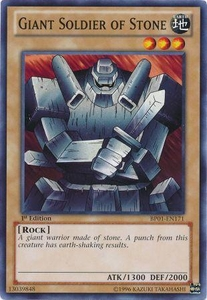 YuGiOh Battle Pack: Epic Dawn Single Card Common BP01-EN171 Giant Soldier of Stone