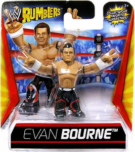 WWE Wrestling Rumblers Mini Figure Evan Bourne
