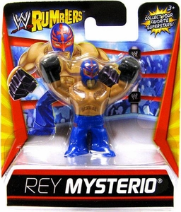 WWE Wrestling Rumblers Mini Figure Rey Mysterio [Blue Mask & Pants]