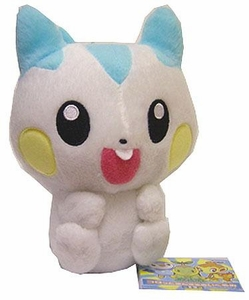 Pokemon Japanese Takara Tomy 5 Inch Plush Figure Pachirisu [Sitting Up]