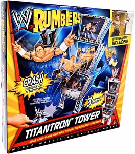 WWE Wrestling Rumblers Playset Titantron Tower [Evan Bourne Figure]