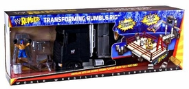 WWE Wrestling Rumblers Playset Transforming Rumble Rig [Exclusive Rey Mysterio Figure]