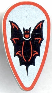 LEGO Fright Knights LOOSE Shield Large Bat Shield