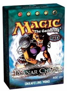 Magic the Gathering Planar Chaos Theme Deck Unraveling Mind