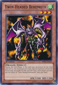 YuGiOh Battle Pack: Epic Dawn Single Card Common BP01-EN179 Twin-Headed Behemoth