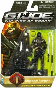 GI Joe Movie The Rise of Cobra 3 3/4 Inch Action Figure Desert Viper [Desert Battle]