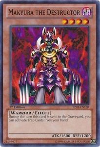 YuGiOh Battle Pack: Epic Dawn Single Card Common BP01-EN180 Makyura the Destructor