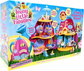 Teeny Little Families Playset Flower Garden Cafe