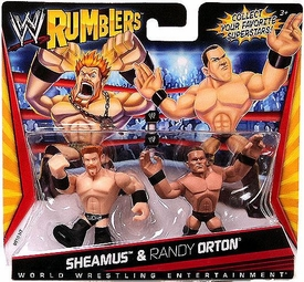 WWE Wrestling Rumblers Mini Figure 2-Pack Sheamus & Randy Orton