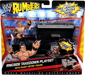 WWE Wrestling Rumblers Playset Ringside Takedown [Randy Orton Figure]