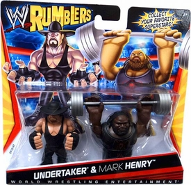 WWE Wrestling Rumblers Mini Figure 2-Pack Undertaker & Mark Henry