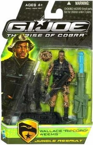 GI Joe Movie The Rise of Cobra 3 3/4 Inch Action Figure Wallace