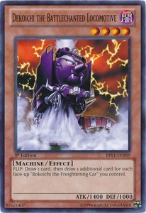 YuGiOh Battle Pack: Epic Dawn Single Card Common BP01-EN189 Dekoichi the Battlechanted Locomotive