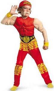 Disguise TNA Wrestling Costume Muscle Chest Hulk Hogan