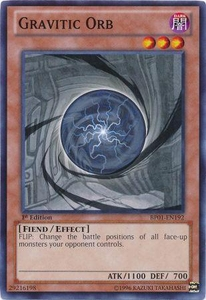 YuGiOh Battle Pack: Epic Dawn Single Card Common BP01-EN192 Gravitic Orb