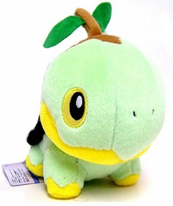 Pokemon Japanese Banpresto 5 Inch Plush Figure Turtwig