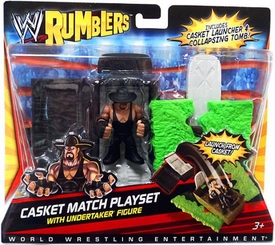 WWE Wrestling Rumblers Playset Casket Match [Undertaker Figure]