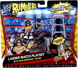 WWE Wrestling Rumblers Playset Ladder Match [John Morrison Figure]